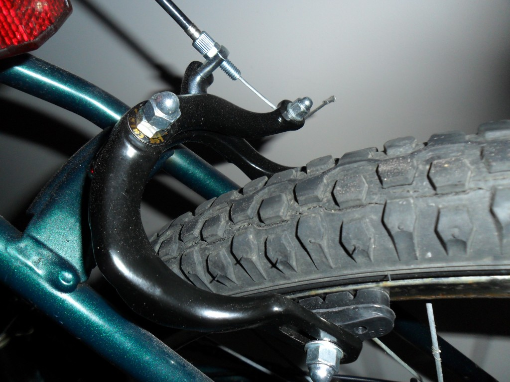 Replacing side-pull caliper brakes on a bicycle